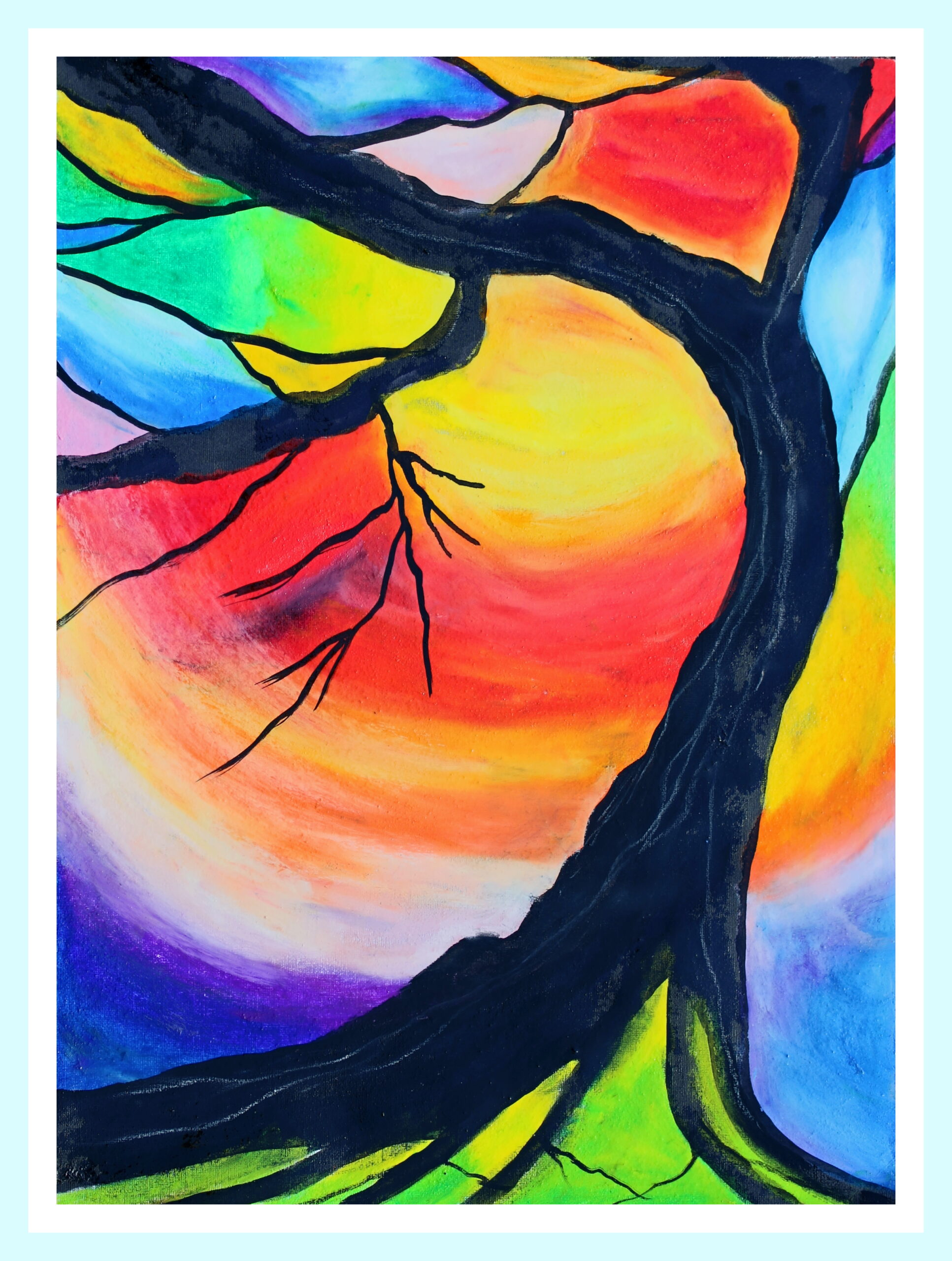The living tree – Forest painting