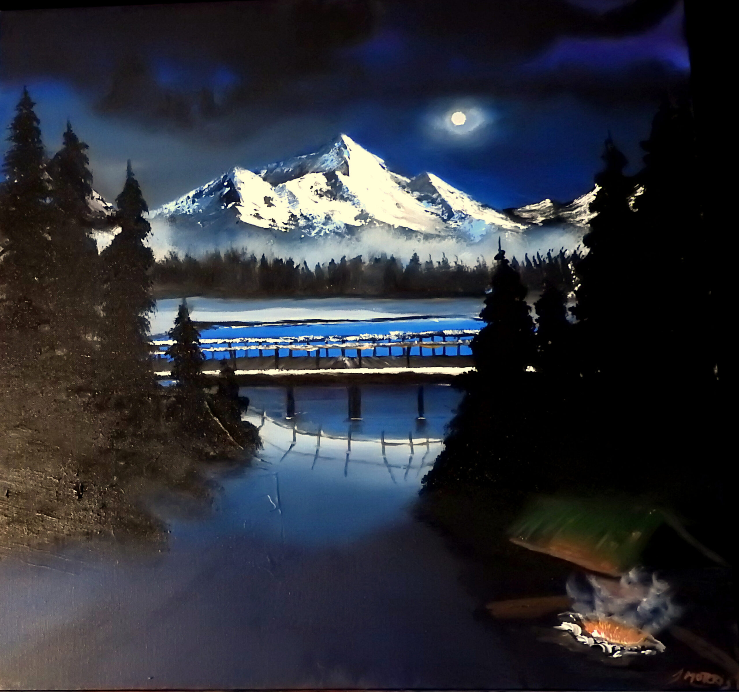 Heart of the mountains – Mountain painting