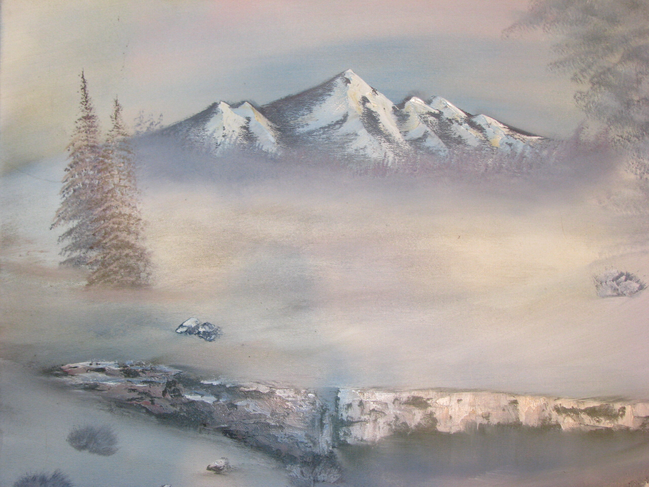 The wilderness – Mountain painting