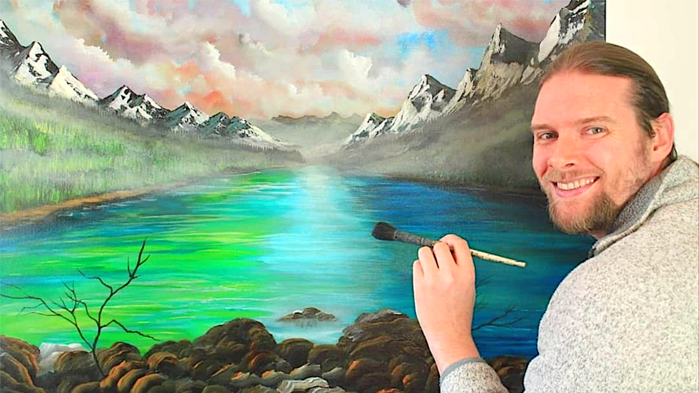 A painting of nature that you will fall in love with!