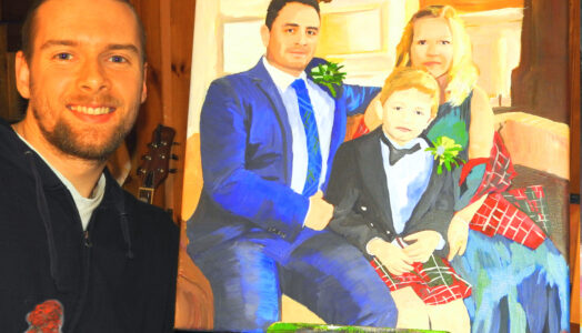 Enjoy the beauty of your very own custom family portrait painting